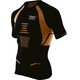 X-Bionic M's The Trick Running Shirt SS Black/Orange Shiny
